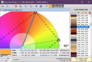 Free Color Picker.cover1  300x205 - دانلود Free Color Picker 1.1 - نرم افزار تشخیص سریع کد رنگها