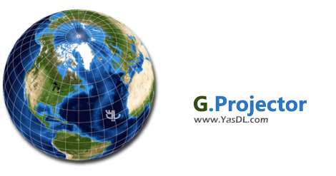 دانلود G.Projector 2.4.0 - ابزار کار بر روی نقشههای جهانی