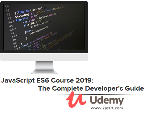 دانلود دوره اکما اسکریپت 6 - JavaScript ES6 Course 2019: The Complete Developer's Guide - Udemy