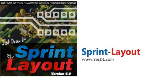 دانلود Sprint-Layout 6.0 - نرم افزار طراحی بردهای مدار چاپی (PCB)