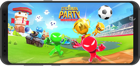 Stickman Party 1.9.6 Men's Party For Android + Infinite Version
