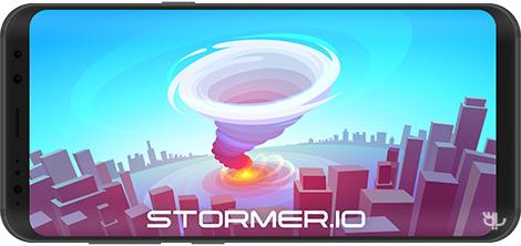 دانلود بازی Stormer.io 1.1 - شبیهساز طوفان برای اندروید + نسخه بی نهایت