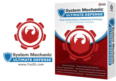 دانلود System Mechanic Ultimate Defense 19.1.2.69 - بسته امنیتی قدرتمند برای کاربران ویندوز