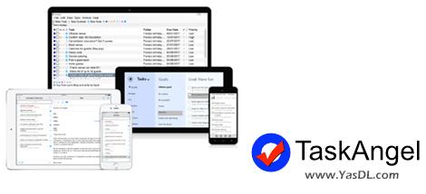 دانلود TaskAngel To-Do List 3.5 Build 3599 - نرم افزار مدیریت امور و اقدامات