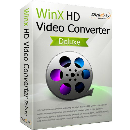 WinX HD Video Converter Deluxe - دانلود WinX HD Video Converter Deluxe 5.16.3.333 - نرم افزار مبدل ویدئو HD