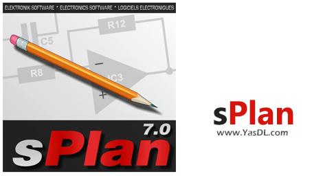 دانلود sPlan 7.0 - نرم افزار ترسیم نقشههای الکترونیکی