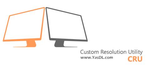 دانلود Custom Resolution Utility - CRU 1.4.2 - نرم افزار تنظیم رزولوشن صفحه نمایش