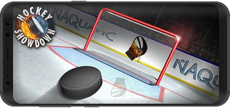 دانلود بازی Hockey Showdown 1.9.4 - مسابقات هاکی روی یخ برای اندروید + نسخه بی نهایت