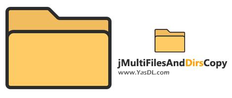 دانلود jMultiFilesAndDirsCopy 1.1.0.0 - ابزار کپی و جابهجایی گروهی فایلها و فولدرها