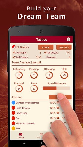 Be The Manager 2020 0.3.0 For Android + Infinity Edition