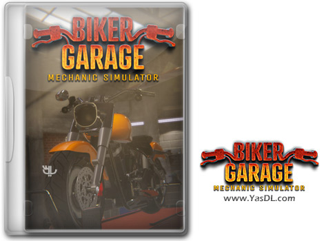 دانلود بازی Biker Garage Mechanic Simulator برای PC