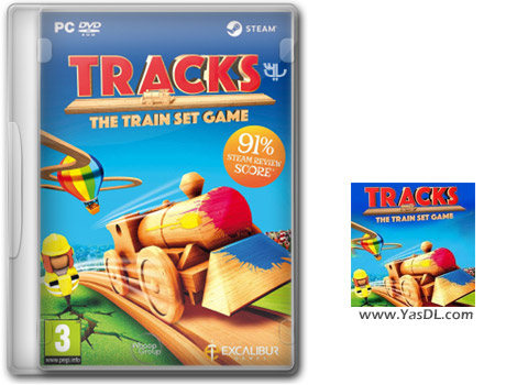 دانلود بازی Tracks The Family Friendly Open World Train Set Game برای PC