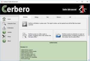 Cerbero Suite Advanced.cover1  300x204 - دانلود Cerbero Suite Advanced 4.8.1 - ابزار آنالیز دقیق و پیشرفته فایلها