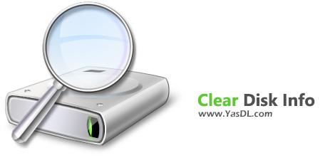 دانلود Clear Disk Info 1.2.0.0 - نمایش اطلاعات مفید در رابطه با هارد دیسک