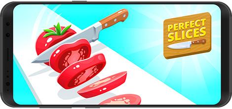 دانلود بازی Perfect Slices 1.3.0 - برش مساوی میوهها برای اندروید + نسخه بی نهایت