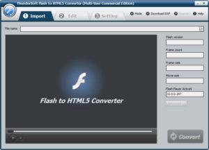 ThunderSoft Flash to HTML5 Converter.cover1  300x216 - دانلود ThunderSoft Flash to HTML5 Converter 4.4.0 - نرم افزار تبدیل فلش به ویدیوهای HTML5