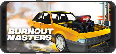دانلود بازی Burnout Masters 1.0003 - رانندگان برن اوت برای اندروید + نسخه بی نهایت
