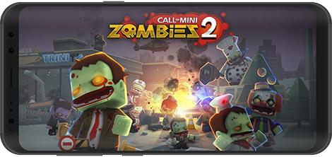 دانلود بازی Call of Mini Zombies 2 2.1.9 - نبرد با مینی زامبیها 2 برای اندروید + نسخه بی نهایت