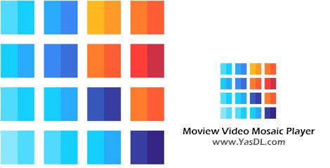 دانلود Moview Video Mosaic Player 1.165 - نرم افزار پخشکننده همزمان چندین فایل ویدیویی