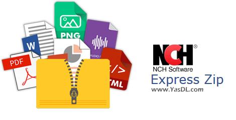 دانلود NCH Express Zip 7.02 - ابزار مدیریت فایلهای فشرده