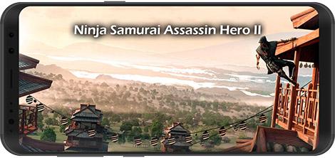 دانلود بازی Ninja Samurai Assassin Hero II 1.3 - نینجای قاتل برای اندروید + نسخه بی نهایت