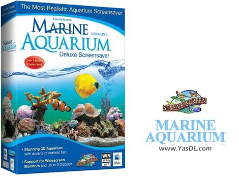 دانلود SereneScreen Marine Aquarium 3.3.6369 - محافظ صفحه نمایش آکواریوم
