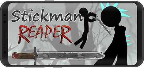 دانلود بازی Stickman Reaper 0.1.44 - آدمک مبارز برای اندروید + نسخه بی نهایت