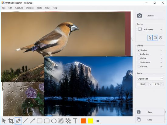 WinSnap 5.2.0 X86/x64 Software For Taking Pictures From Desktop Environment