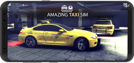 دانلود بازی Amazing Taxi Sim 2020 Pro 1.0.2 - شبیهساز رانندگی تاکسی برای اندروید + نسخه بی نهایت