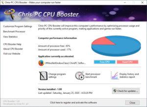 Chris PC CPU Booster.cover1  300x218 - دانلود Chris-PC CPU Booster 1.16.11 - نرم افزار بهینهسازی عملکرد پردازنده سیستم