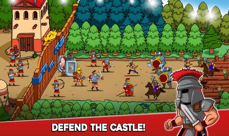 Empire Rush: Rome Wars& Defense 2.7.8 For Android + Infinite Edition