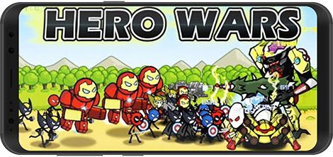 دانلود بازی HERO WARS: Super Stickman Defense 1.0.9 - جنگ قهرمانان برای اندروید + نسخه بی نهایت