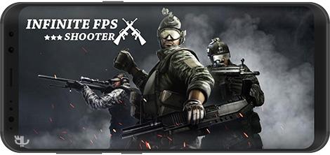 دانلود بازی Infinity FPS shooter : Modern commando ops strike 1.0 - تیراندازی اول شخص برای اندروید + نسخه بی نهایت