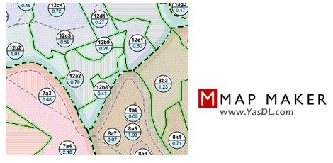 دانلود Map Maker Pro 4.0 - نرم افزار طراحی حرفهای نقشه