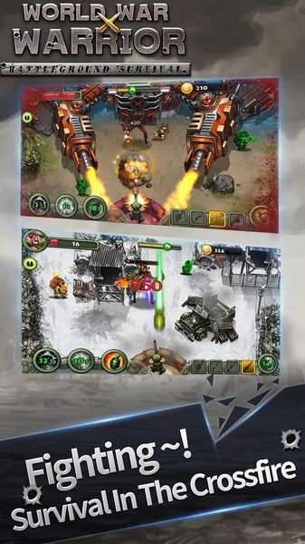World War Warrior 1.0.4 For Android + Infinity Edition
