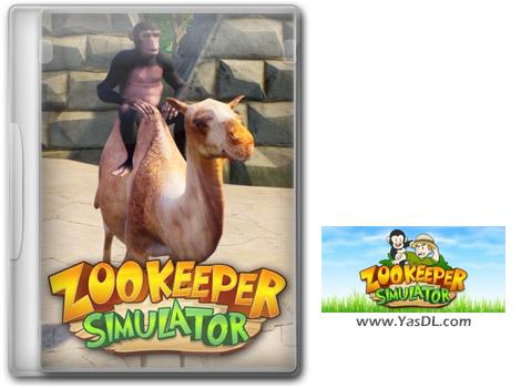 دانلود بازی ZooKeeper Simulator Jurassic برای PC