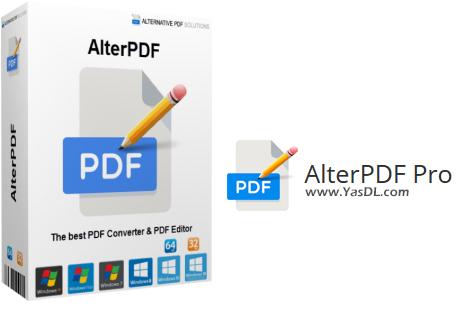 دانلود AlterPDF Pro 5.1 - ابزار جامع کار بر روی اسناد PDF