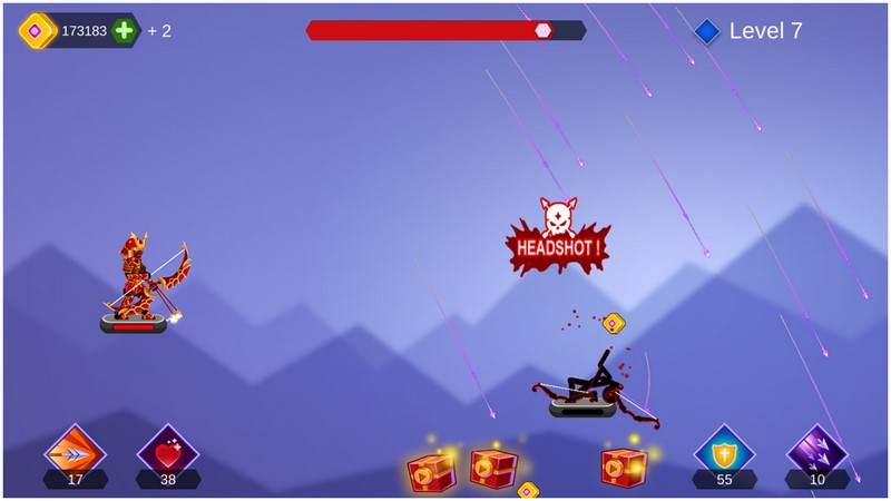 Arrow Go 1.45 Humorous Archery For Android + Infinity Edition