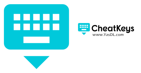 دانلود CheatKeys 1.0.103 Beta - مشاهده مجموعه شرتکاتها در نرم افزارهای کاربردی