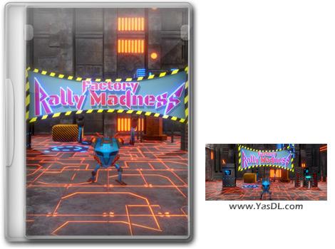دانلود بازی Factory Rally Madness - مسابقه ربات ها برای کامپیوتر