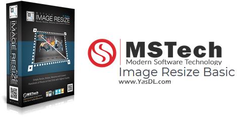 دانلود MSTech Image Resize Basic 1.9.6.1032 - ابزار تغییر سایز تصاویر