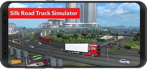 دانلود بازی Silk Road Truck Simulator : Offroad Cargo Truck 1.9.1 - شبیهساز رانندگی کامیون در جاده ابریشم برای اندروید + دیتا