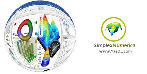 دانلود SimplexNumerica 16.1.23.0 x64 - نرم افزار محاسبات عددی و مصورسازی دادهها