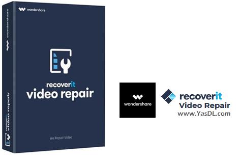 دانلود Wondershare Recoverit Video Repair 1.1.2.3 - نرم افزار تعمیر فایلهای ویدیویی