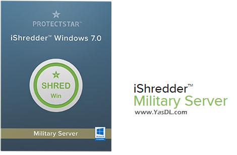 دانلود iShredder Military Server Edition 7.0.20.03.21 - پاکسازی ایمن و غیرقابل بازگشت اطلاعات در ویندوز سرور