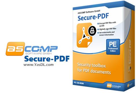 دانلود ASCOMP Secure-PDF Professional 2.001 - نرم افزار محافظت از اسناد PDF