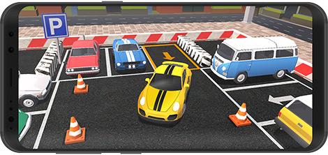 دانلود بازی Car Parking 3D Pro : City car driving 1.23 - شبیهساز پارک خودرو برای اندروید + نسخه بی نهایت