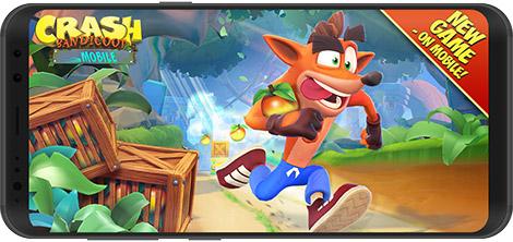 دانلود بازی Crash Bandicoot Mobile 0.1.1279 - کراش باندیکوت موبایل برای اندروید + دیتا