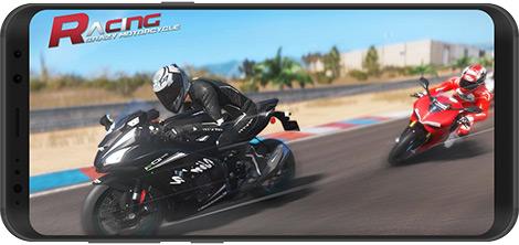 دانلود بازی Crazy Motorcycle Racing 1.0.1 - مسابقات موتورسواری برای اندروید + نسخه بی نهایت