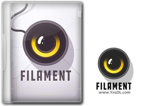 دانلود بازی Filament - شرکت فضایی فیلامنت برای کامپیوتر